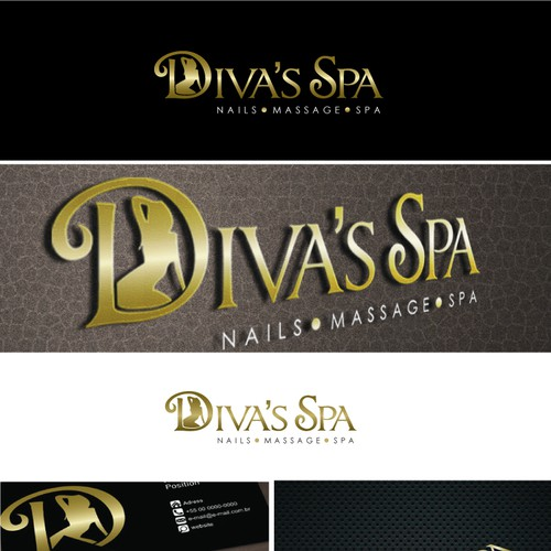 logo for Diva's Spa