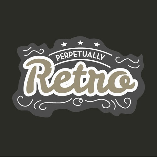 Perpetually Retro needs a new logo