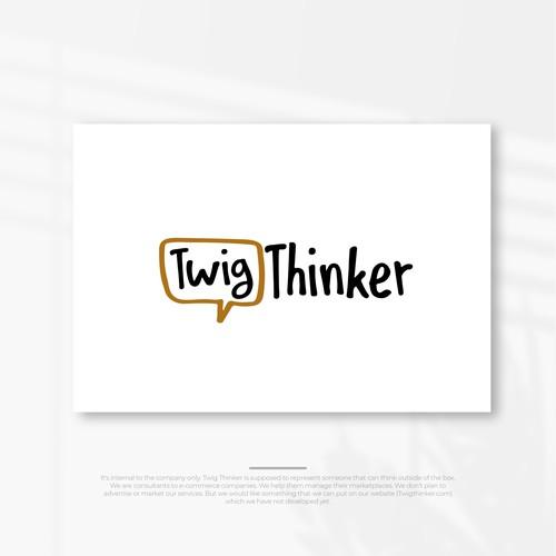 Twig Thinker logo finalist