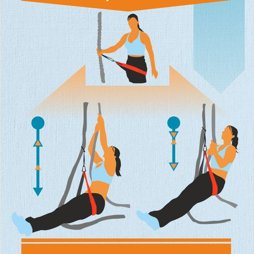 Exercise / Functional Training Infographic for Boston Gym