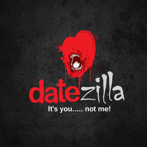 Logo design for dating horror stories blog