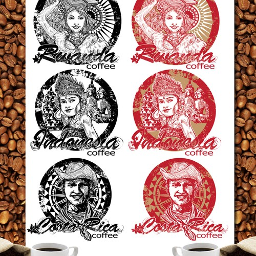 Premium Coffee Brand is looking for an identity for their packaging. Great Rewards!