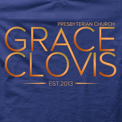 T-shirt design for Grace Clovis Church