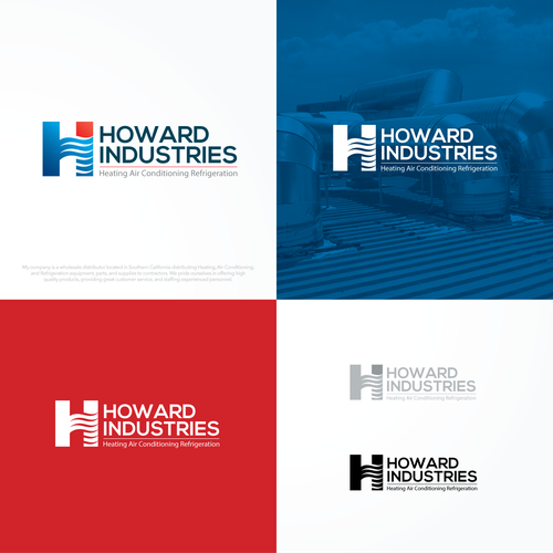 Howard Industries needs a fresh and updated logo