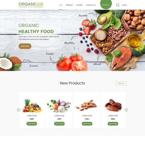 Organique needs a powerful and modern e commerce