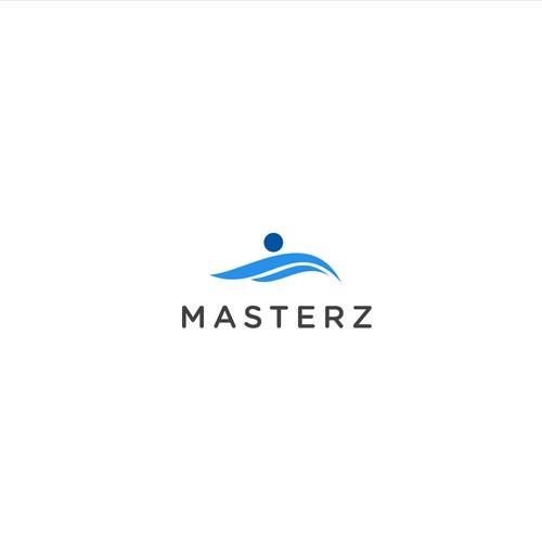 Bold logo concept for Masterz