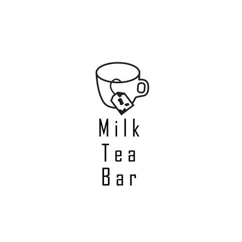 Logo concept for a tea shop