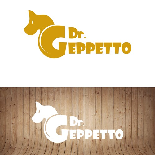 Cool & prestige logo for super quality personalized wooden toys..( Dr. Geppetto )