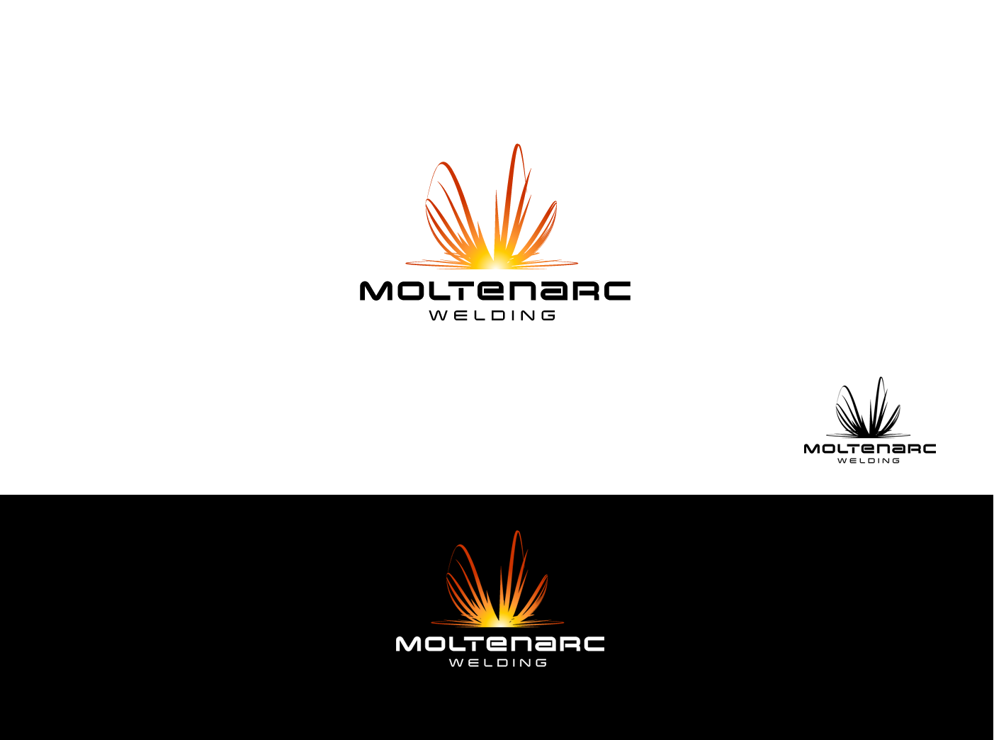 MOLTENARC Welding needs a new logo