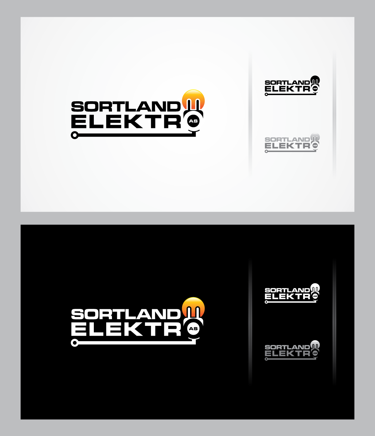 Help Sortland Elektro AS with a new logo
