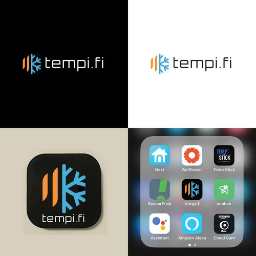 Logo Design for tempi.fi