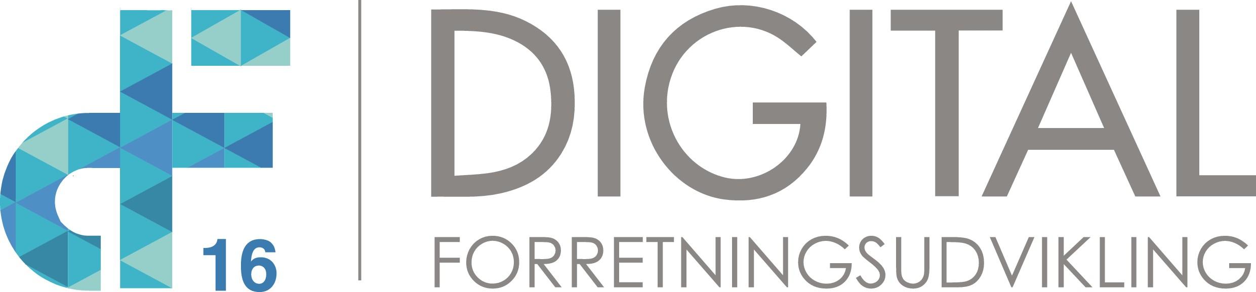 Logo for digital business conference