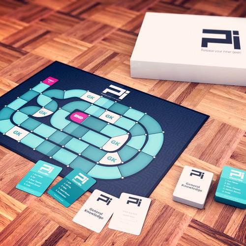 Pi - The Board Game