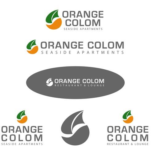 Logo für Hotel und Restaurant ORANGE COLOM - Mallorca