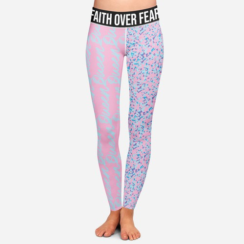 Feminine Grunge Leggings Design