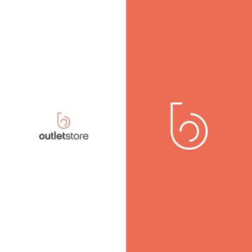 Logo Design for B Outlet Store