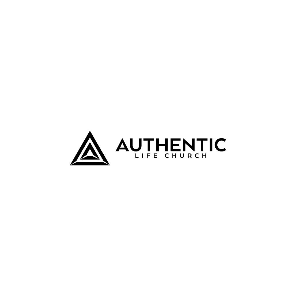 Design Minimalist Logo for Authentic Life Church