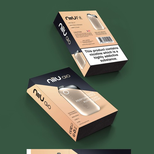 Package design for e cig