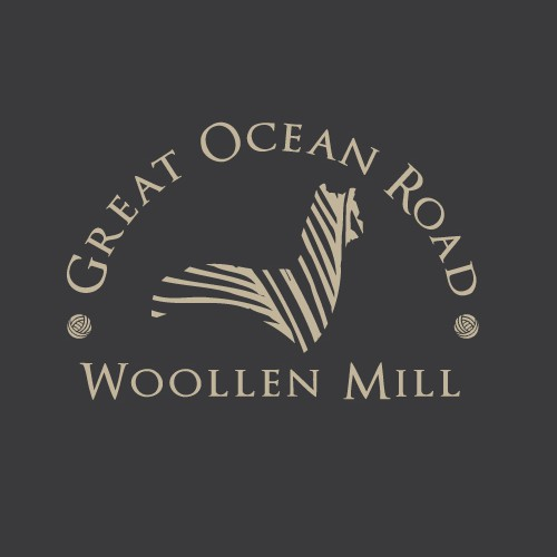 Create a luxurious logo for an Alpaca Woollen Mill