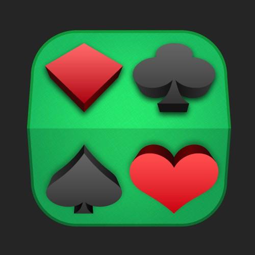 Solitaire 3d app icon