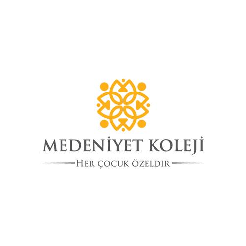 MEDENİYET KOLEJİ Logo Design