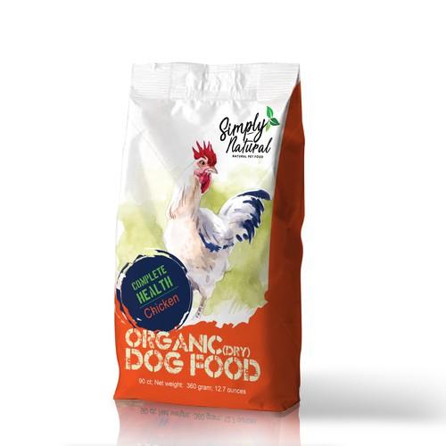 Dog food packet