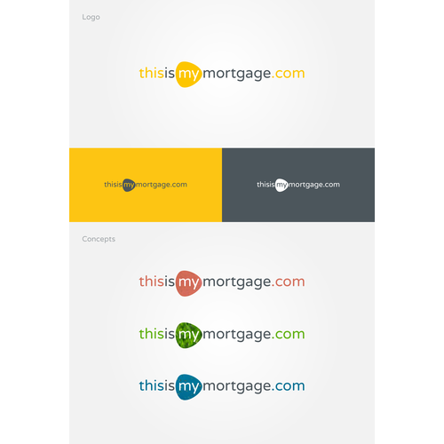 Logo system for mortgage company