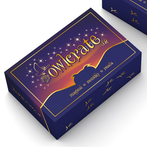 Eye-cathing box design for Owlcrate
