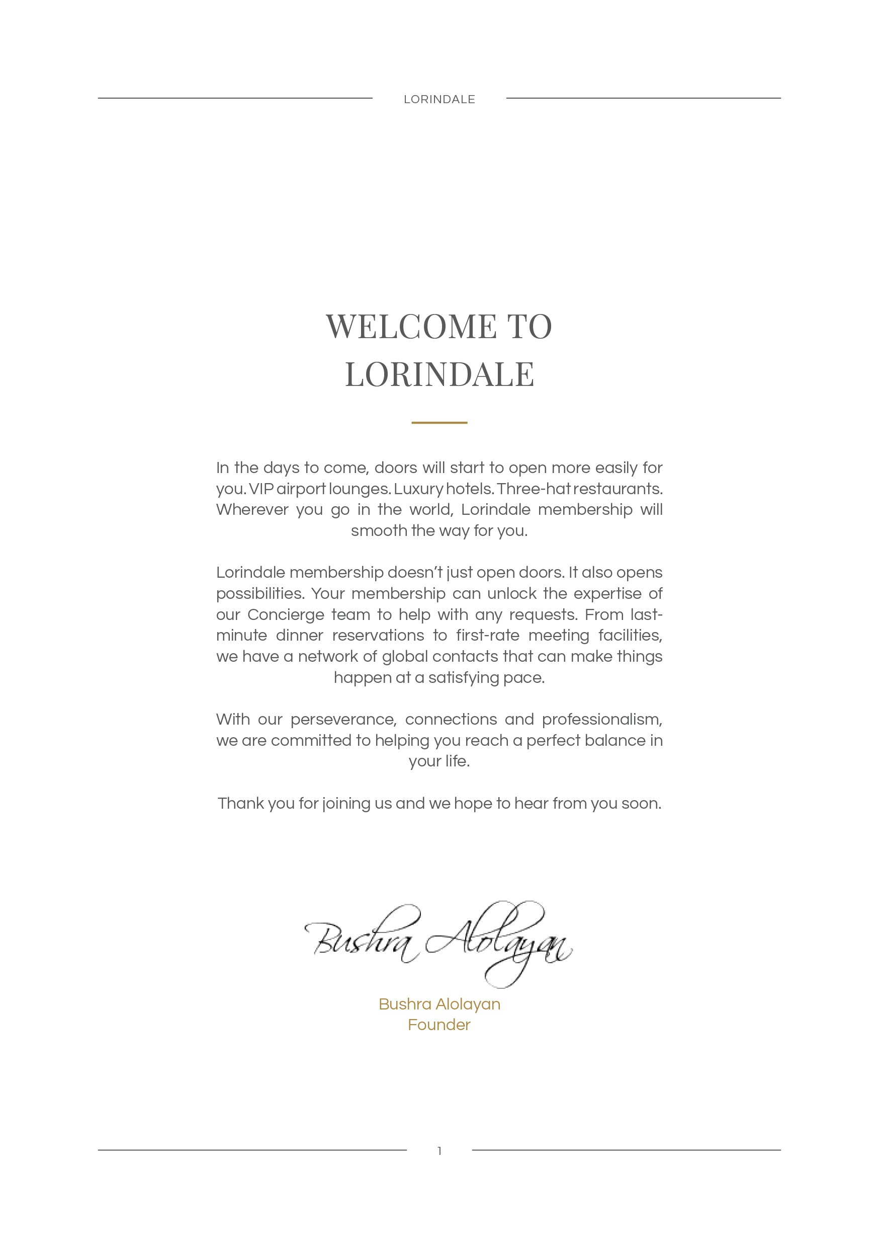 Design luxurious vertical A5 booklet membership guide
