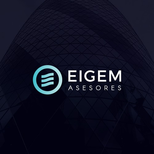 Eigem Asesores - Logo proposal for tax advisory from Ibiza.