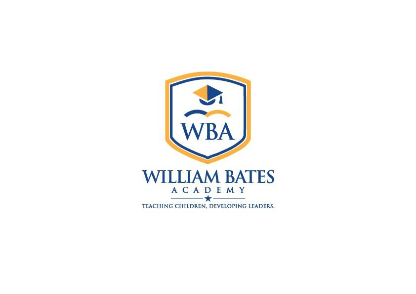 William Bates Academy  Classic Logo Re-Design