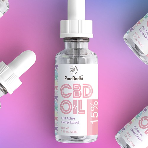CBD Oil Label