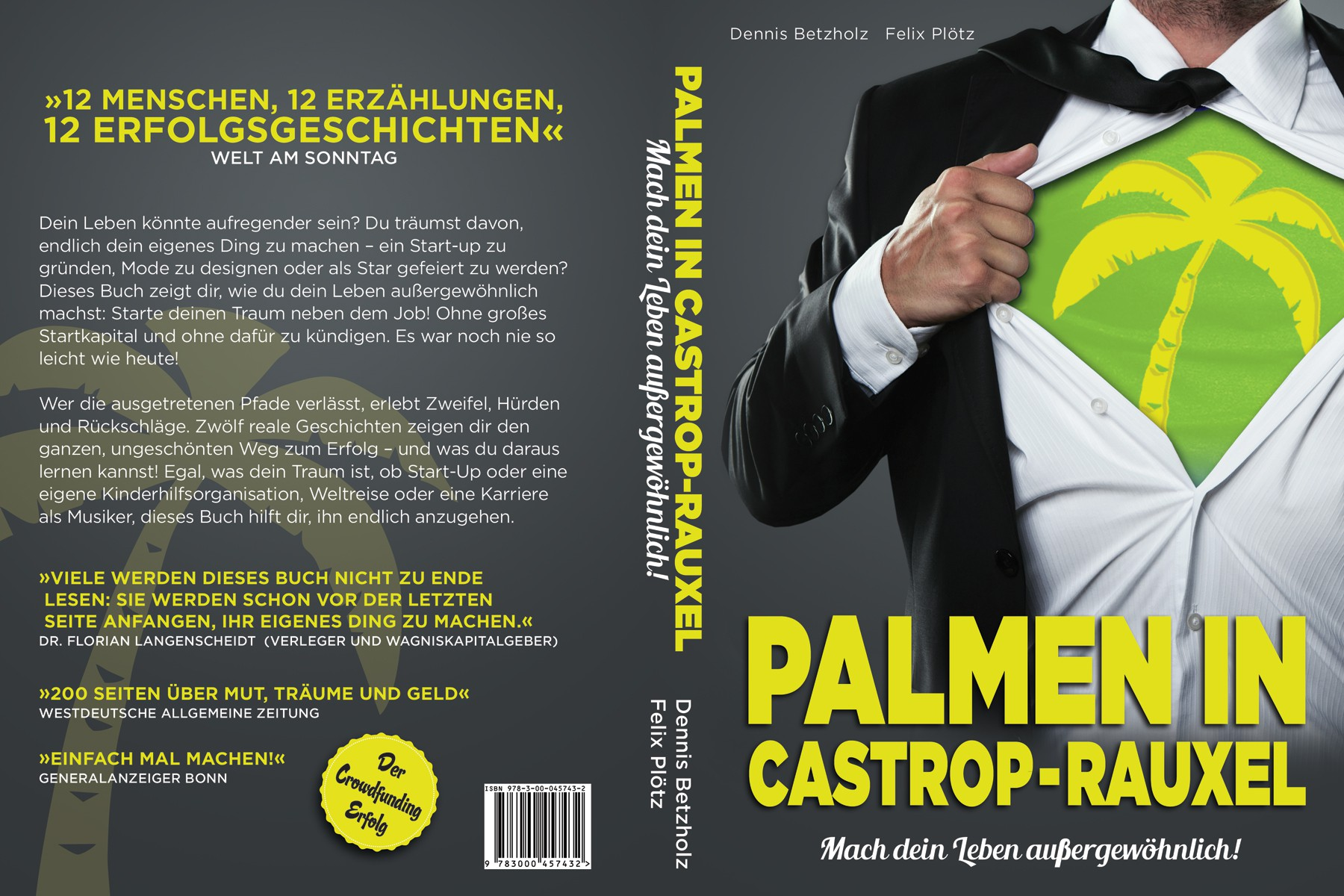 EASY job for s.o. with good Photoshop skills + talent for fonts // optimization of draft book cover