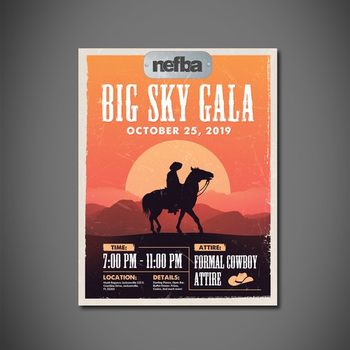 Flyer Design For Gala Night