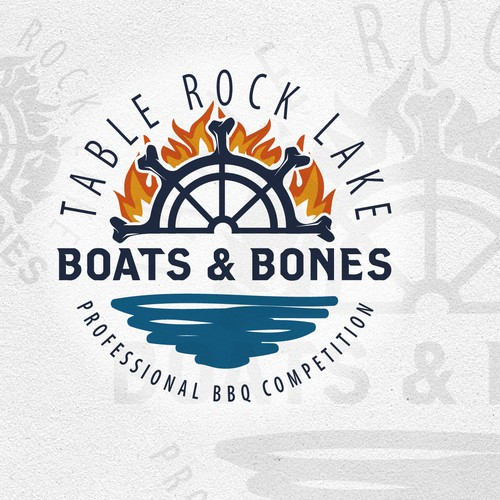 Design a Logo for a BBQ contest on Table Rock Lake!