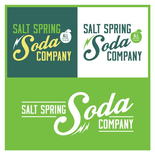 Salt Spring Soda Company Logo