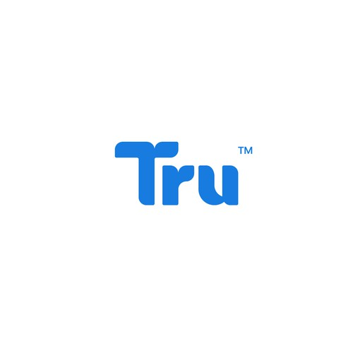 Logo design for Tru, a Social Media with Purpose.