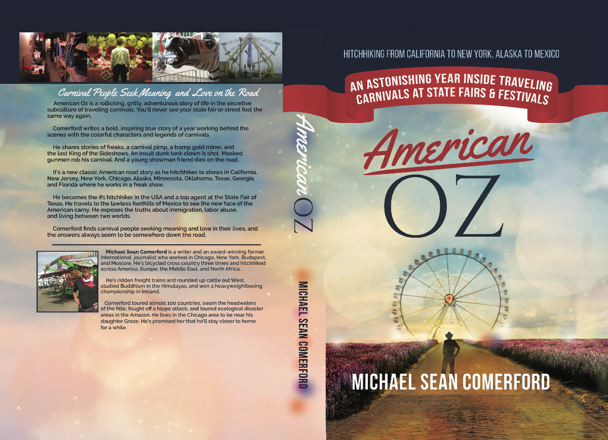 Audio book cover and resize for American Oz