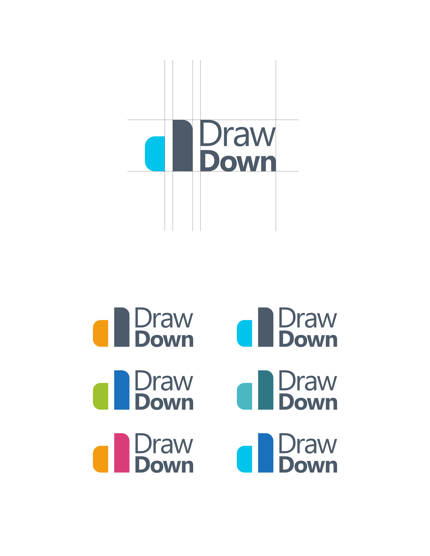 Help design a sophisticated but eye catching logo for DrawDown Partners