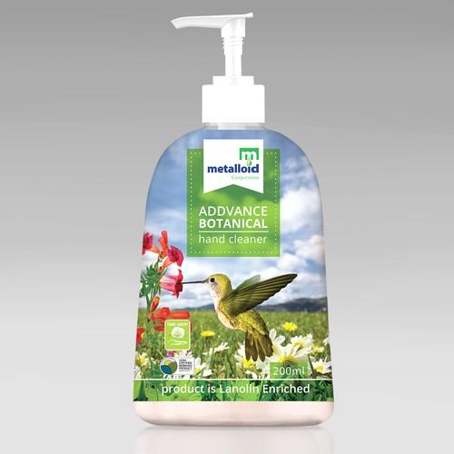 Addvance Botanical Soap label
