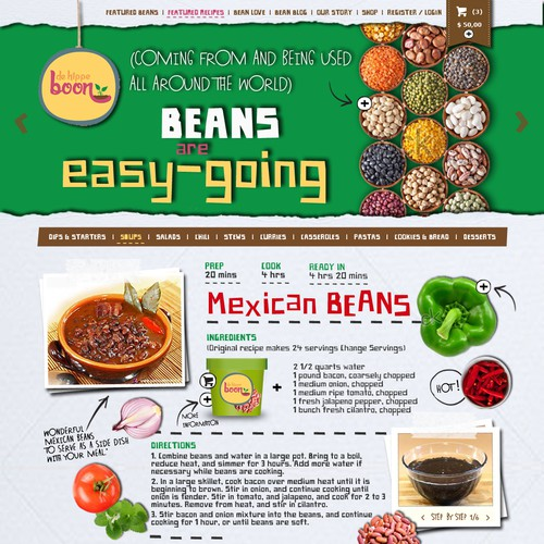 """Back to the sixties: Create a modern website for a """"boring"""" product - De Hippe Boon/The Cool Bean"""