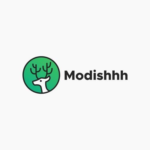 Hip Logo for Art Retailer