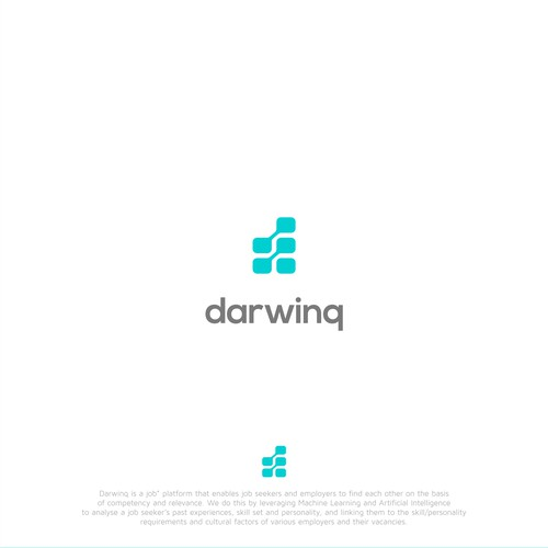 Simple Iconic and timeless design for DarwinQ