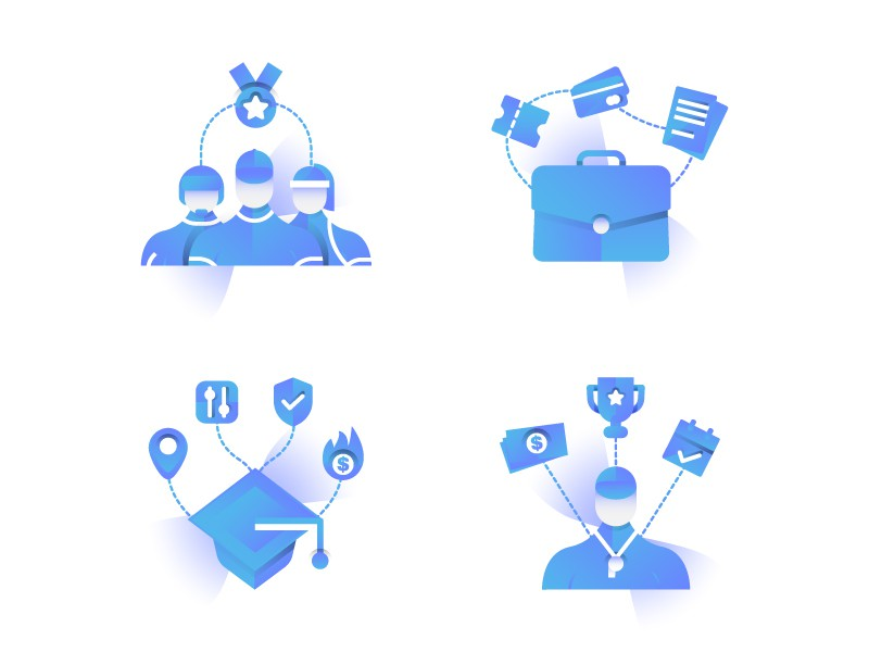 3 New Icons for Lucid Travel - Business, Tournament Directors, Sports Teams