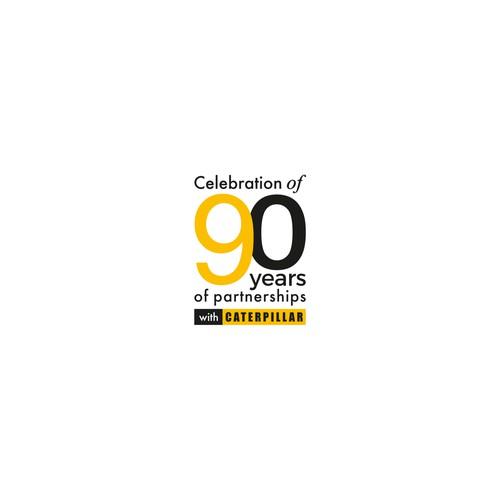 Celebration of 90 years of partnerships with Caterpillar