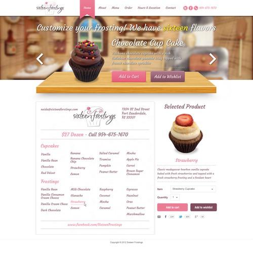 Cupcake Website