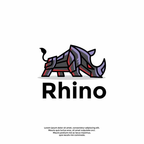 cool rhino logo