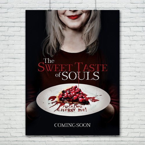 Horror movie poster: The Sweet Taste Of Souls
