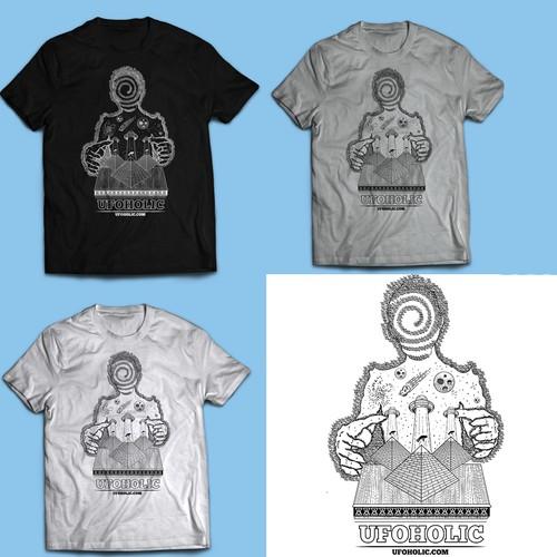 Ufoholic Tshirt design