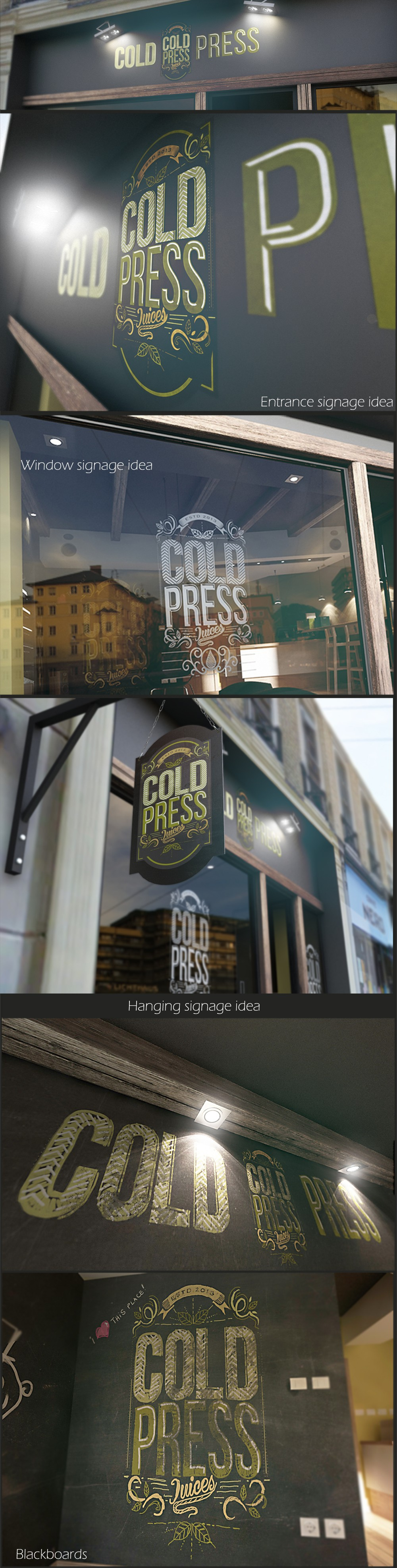 Help to create amazing store signage, for an amazing company